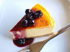 水切りヨーグルトのチーズケーキ3