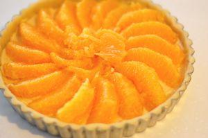 オレンジのタルト4