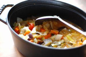 野菜だけのスープ2