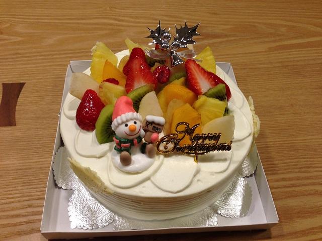 20141214ケーキ