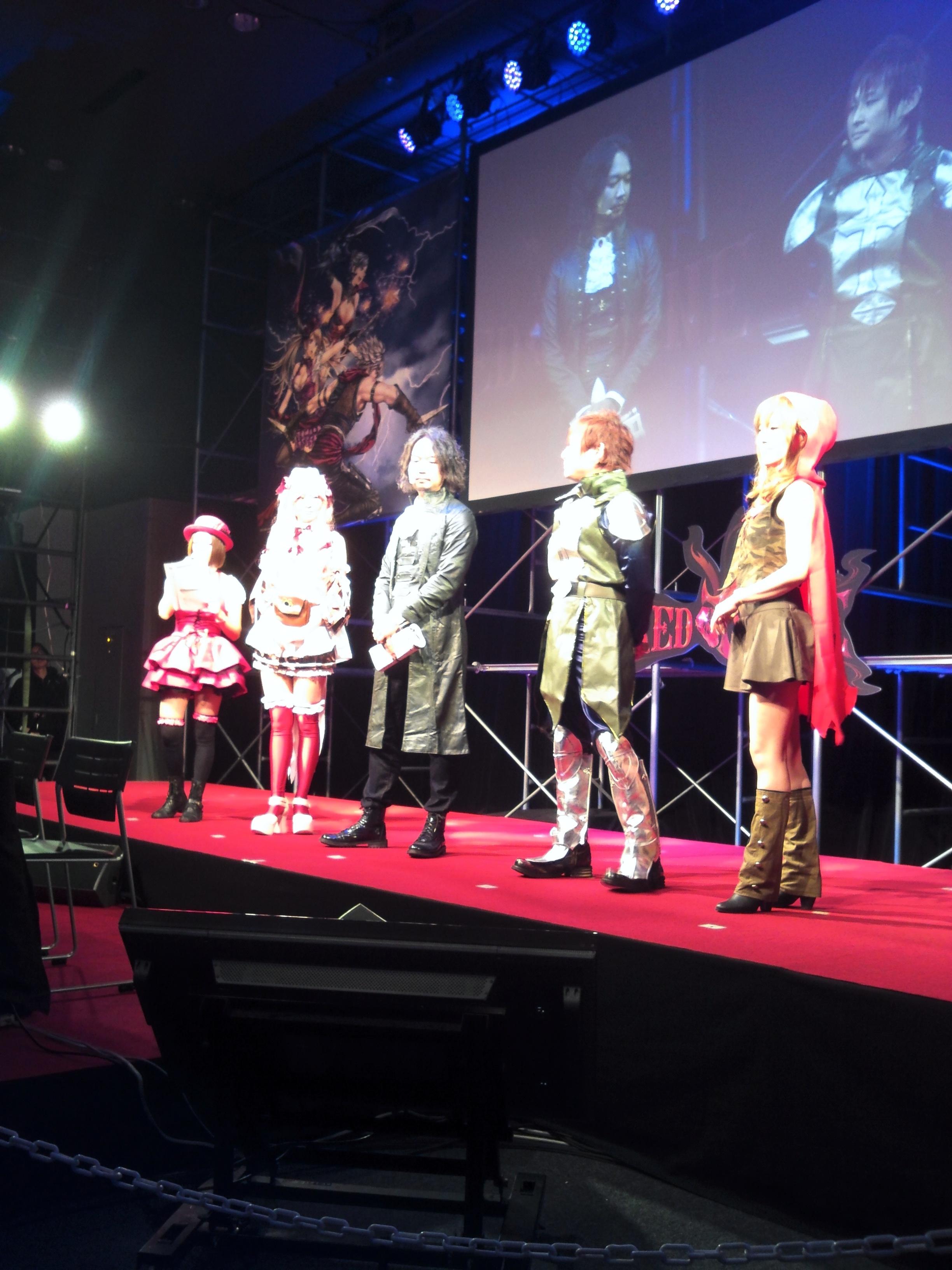 オフラインイベント20131214(うさみん・しまだP・EMアース)