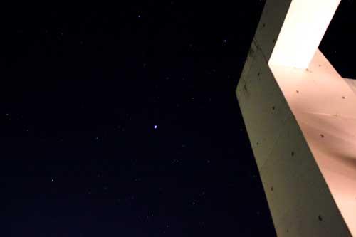 屋上から見た星1