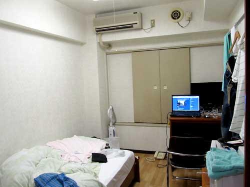 技術補完研修の宿泊所