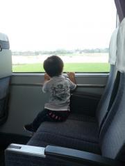新幹線にて1