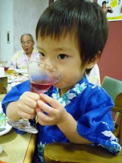 Tsubakiも飲んでる