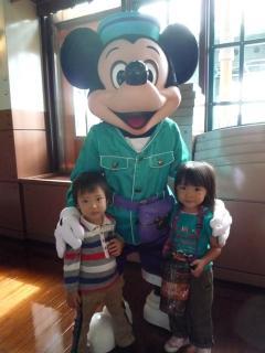 ミッキーと子供たち