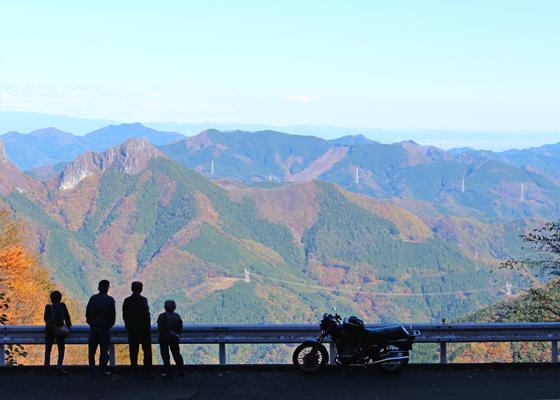 八丁峠からの眺め