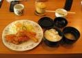 昼はフライ定食 下田・昇龍