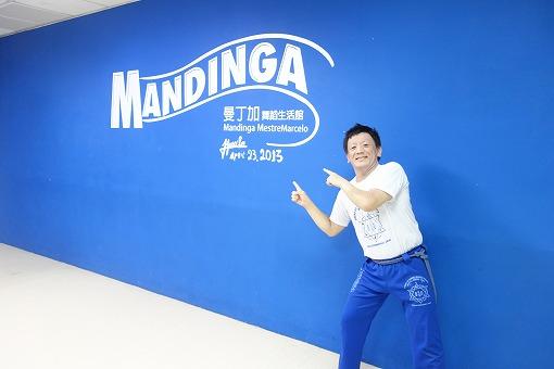 台湾での練習参加に喜びの筆者