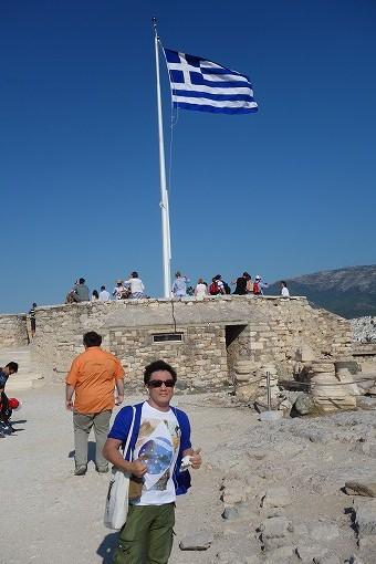 ギリシャにやってきました。