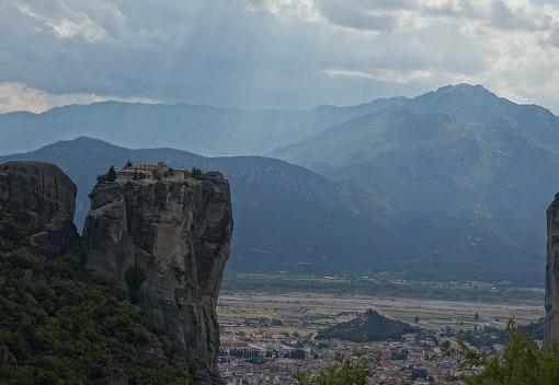 天空の修道院 メテオラ