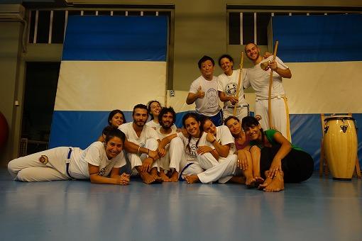 Capoeira Sou eu のみなさんと