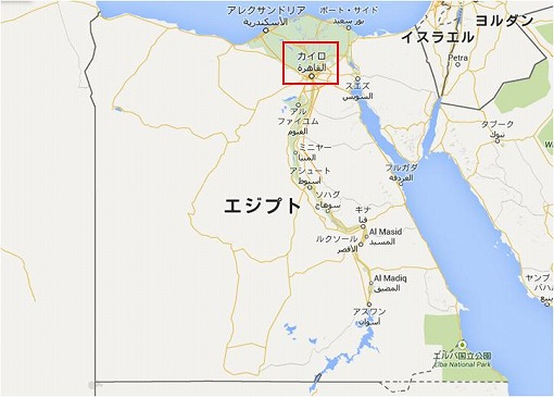 エジプト全図