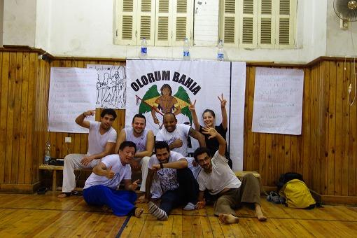 Olorum Bahia Capoeira Cairoのみなさんと