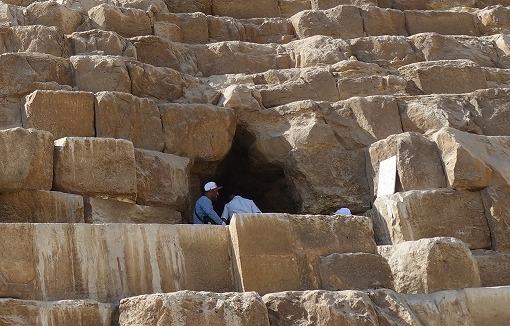 王墓の入口