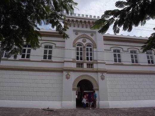 Forte da Capoeira とても広い建物だった。