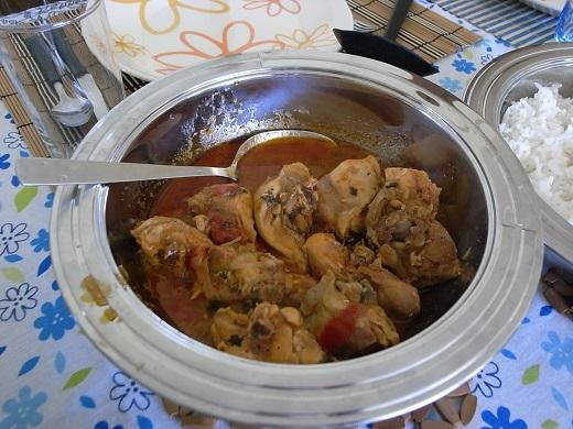 こうなって「鶏のトマト煮」