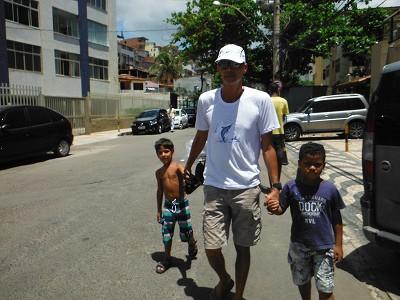 トニーと子供たち