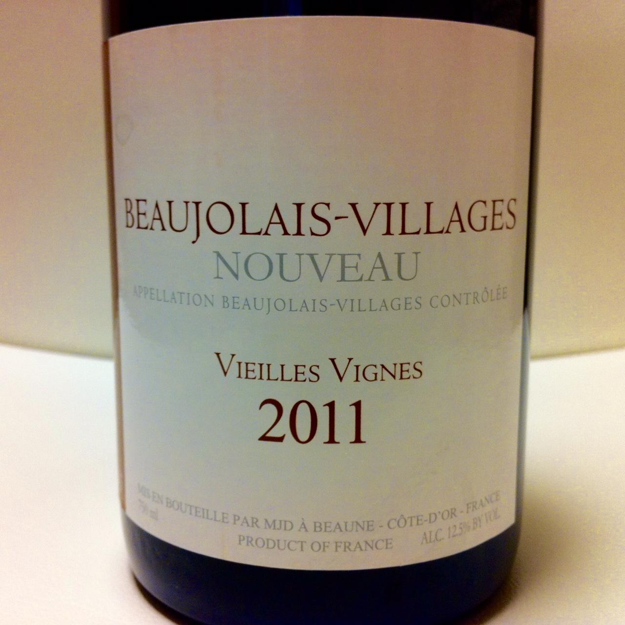 beaujolais-villages nouveau 2011