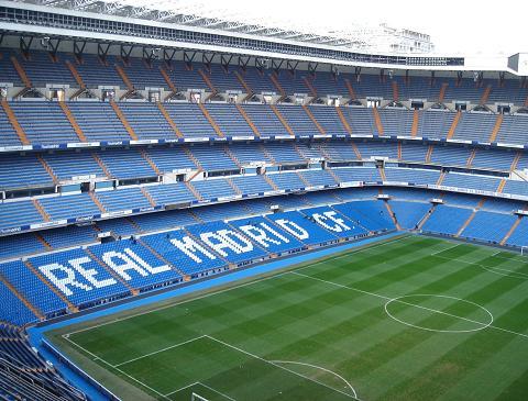 ライバル、レアル・マドリッドのスタジアム