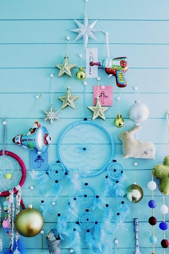 2014年クリスマス壁でこ1