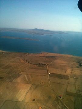 リムノス島上空
