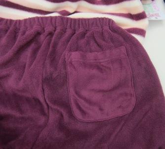 パジャマのポケット