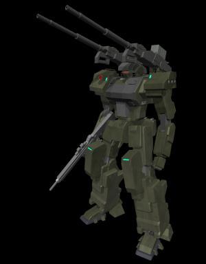 24式試作砲撃多型