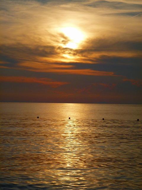 浜辺の夕暮れ2