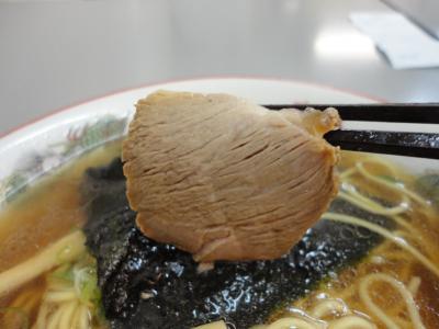 正油ラーメン 叉焼@まるたかさん