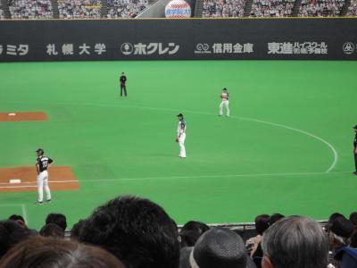 稲葉選手@札幌ドーム