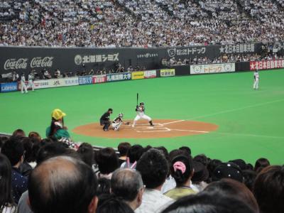 中田選手@札幌ドーム