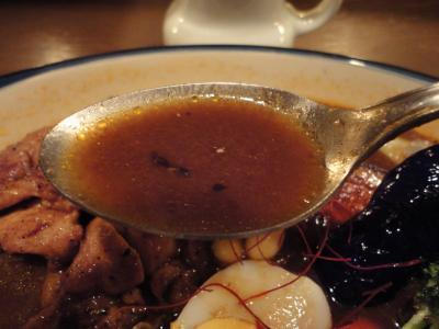 Mama KAYのジャークチキンカレー スープ@ZORA