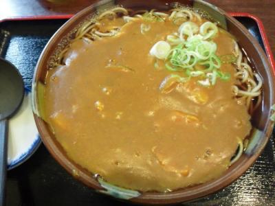 カレー蕎麦@錦水さん