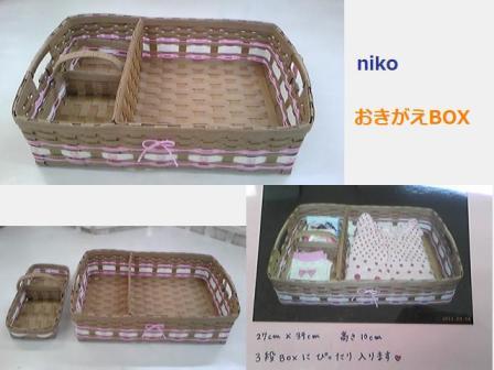 nikoおきがえBOX