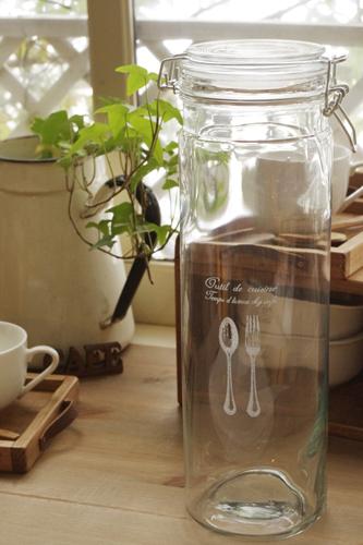 ガラス製保存瓶*パスタポット