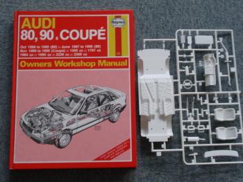Audi 80 製作記3