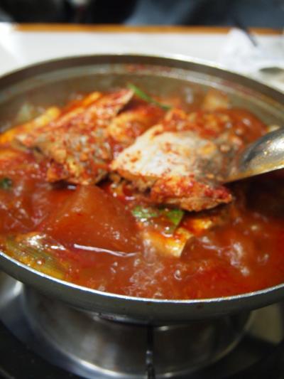 太刀魚と大根(チュンムチ)
