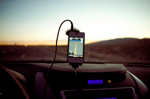 iPhone navi