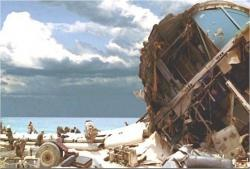 シーズン1より、815便の残骸