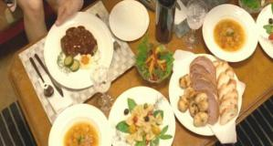 千秋がのだめの為に作った豪華なディナー