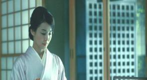 日本で茶道をしている豊の妻