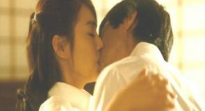 婚約者にキス