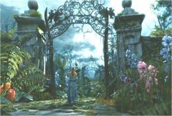 不気味な門