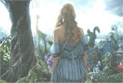 外に出たアリス