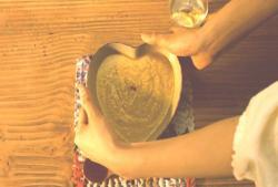 ハートに器に入ったスープカレー