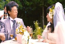 倫子の母の二度目の結婚披露宴での至福のひと時