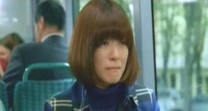 バスの中で泣いている、のだめ