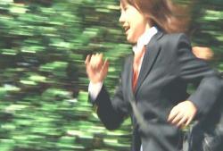 走る、時かけ少女