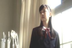 母・和子の中学時代。理科実験室。